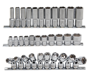 Surtidos de llaves de vaso 3/8'' (10 mm)