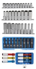 Surtidos de llaves de vaso 1/2'' (12,5 mm)