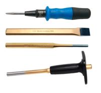 Cincel, granetes & botadores para pasadores