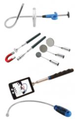 Recogedores magnéticos, garras & espejos