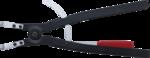 Alicate de puntas (circlip) en ángulo para anillos de retención exteriores 500 mm