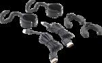 Lampara de mano LED COB para el capo con bateria recargable y soporte de expansion 2 lamparas de mano de trabajo COB-LED