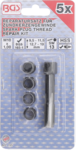Juego de reparacion de roscas de bujias M10 x 1,00 mm