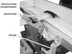 Cepilladora movil - 260mm - 3mm