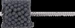 Herramienta para lapeado flexible granulacion 120, 87 - 89 mm