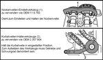 Juego de calado de distribucion para BMW y MINI 1.5 y 2.0L Diesel