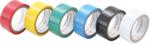6 unidades de cinta aislante PVC