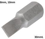 Bit 10 mm (3/8) unidad ranura SL 8 mm