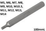 Punta longitud 100mmL entrada (3/8) perfil en cuna (para RIBE)
