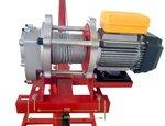 Gr a movil de 500 kg con cabrestante electrico de 230v