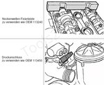 Juego de ajuste de Vanos doble para BMW M52TU / M54 / M56