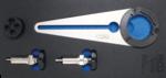 Soporte de polea de cigüeñal y conjunto de herramientas giratorias para BMW 2.5D