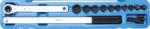 Juego de montaje y desmontaje para correas acanaladas (3/8) + (1/2)