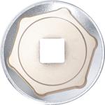 Llave de vaso hexagonal entrada 1/2 - 41mm