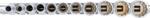 Juego de llaves de vaso 12 caras, largas entrada (3/8) medidas en pulgadas 11 piezas