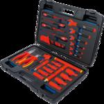Maletin de herramientas de llaves de vaso VDE 26 piezas