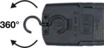 Lampara de taller LED COB con iman y gancho plegable con funcion de carga inductiva