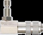 Adaptador de bayoneta para el sistema de refrigeracion 90° en angulo para 8027, 8098