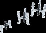 Juego de extractores interior/exterior de 2/3 brazos 100 / 120 / 150mm 3 piezas