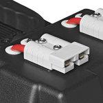 Caja de bateria 30x20x20 cm 2 USB - 1 toma a 12 V - Voltimetro - 2 conectores Anderson