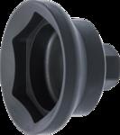 Llave para tuercas de eje hexagonal para los ejes de remolques SAF 85 mm