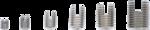 Surtido de insertos roscados autorroscantes 32 piezas