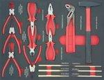 Carro de herramientas lleno 250 piezas