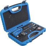 Juego de herramientas de abocardado, doblado y corte para tuberias de freno de 4,75 mm (3/16)