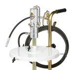 El diametro de la unidad de lubricacion es de 385 mm