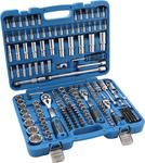 Juego de llaves de vaso Super Lock entrada 6,3 mm (1/4) 10 mm (3/8) / 12,5 mm (1/2) 192 piezas