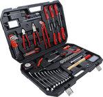 Maletín de herramientas y llaves de vaso 82 piezas