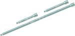 Juego de enchufes, 15 piezas, 3/4, hexagono 19-50 mm