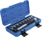 Juego de llave dinamometrica 6,3 mm (1/4) 6 - 30 Nm 10 piezas