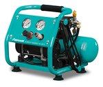 Compresor de bajo ruido 8 bar 4l 28l/min