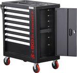 Carro de herramientas 7 cajones 1 compartimento vacio