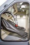 Cabina de pintura 370 l + ciclon