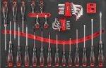 Carro de herramientas Black Edition 308 unidades