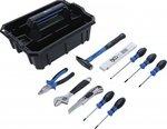 Maletin de transporte de herramientas Surtido de herramientas de plastico reforzado 11 piezas