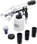Pistola de limpieza de aire comprimido con cepillo y accesorio de aspiracion 7 piezas