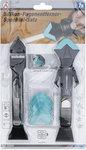 Juego de espatula y rasqueta de silicona 7 piezas