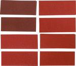 Juego de hojas de lija lijadora orbital / lijadora manual 93 x 230 mm K 60 - 180 25 piezas