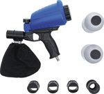 Pistola neumatica de arenado con accesorios 3 piezas