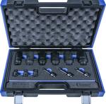 Tomas de eje de transmision, 12 piezas, 1/2, bi-hexagono / estriado / hexagono