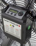 Ventilador movil con funcion de giro de 1500mm de diametro 950W
