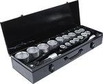 Juego de llaves de vaso entrada 20 mm (3/4) 19 - 50 mm 20 piezas