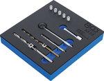 Kit de reparacion de roscas para tornillos de fijacion del inyector 10 piezas
