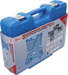 Juego de llaves de vaso hexagonal entrada 6,3 mm (1/4) / 10 mm (3/8) medidas en pulgadas 92 piezas