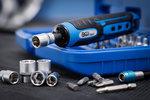 Destornillador a bateria incl. juego de puntas y llaves de vaso 41 piezas