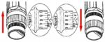 Juego de llave dinamometrica 40 - 210 Nm 11 piezas