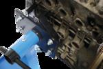 Soportes de motor móviles XL, 560 kg